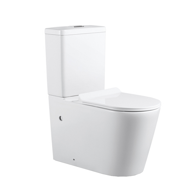 High Quality Sanitary Ware White Two Piece Ceramic WC Toilet