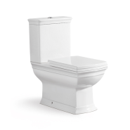 First-E1034A Sanitary ware bathroom ceramic wc piss two piece toilet