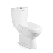 First-E022 High Quality Sanitary Ware White Two Piece Ceramic WC Toilet
