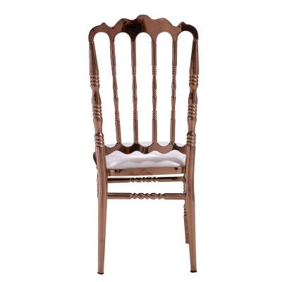 16XHA-155 Classic metal European dinining chair