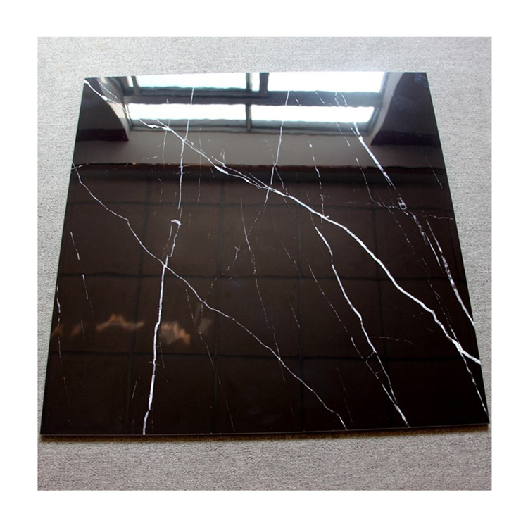 Custom size black white root artificial marble stone sheets cheap price for home furniture and wall and floor decor