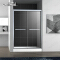 Aluminum Alloy Frame Sliding Shower Glass Door With Cheap Price WTM -03B21