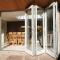 Sunnyquick aluminum glass bi-fold door balcony aluminium alloyed bi folding sliding doors exterior hinge Malaysia