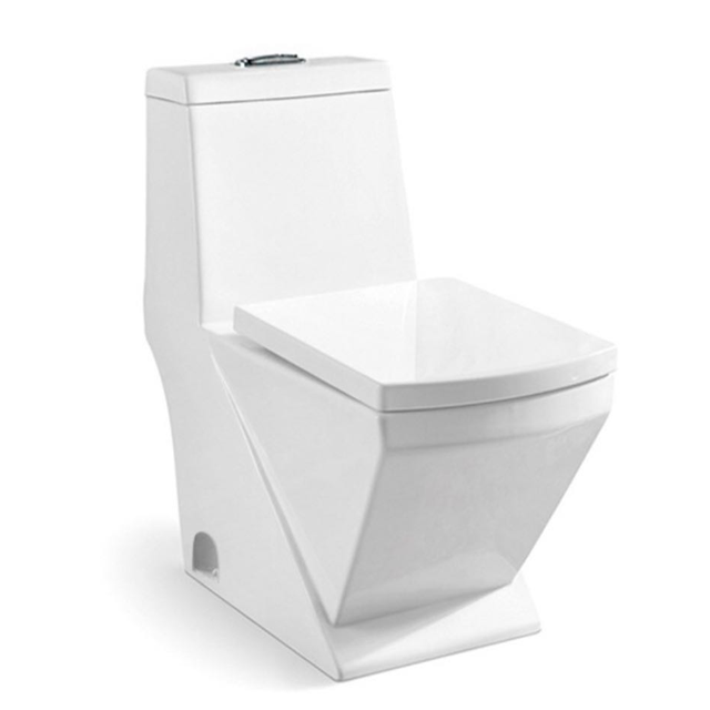 High Quality Sanitary Ware White One Piece Ceramic WC Toilet