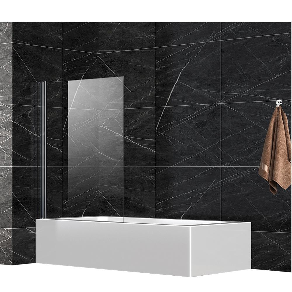 Cheap High Quantity 6mm Glass Bath Shower Screen for UK market