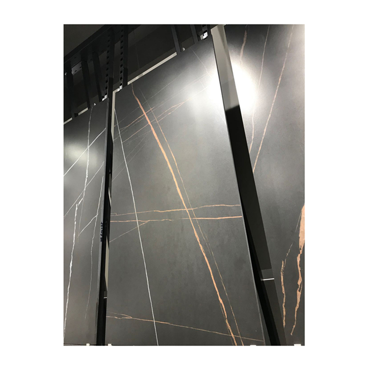 China factory black gold marble blocks cheap price for wall and floor decor or home furniture custom made in China