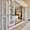 Sunnyquick last design aluminum glass bi-fold door entry aluminium alloyed bi folding sliding doors price