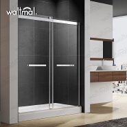Double Sliding Shower Door for North American Market