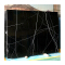 Black and white root stone artificial marble tile sheets custom furniture wall and floor decor for sale