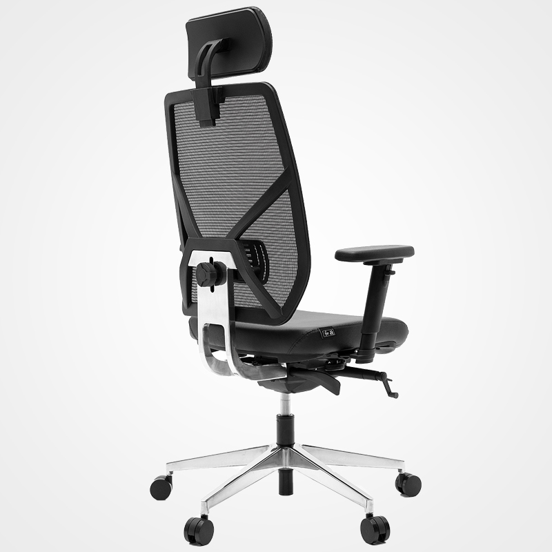 Leather Comfortable Office Chair With Wheels