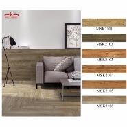 New design rustic wooden grain ceramic floor tile 200x1000mm