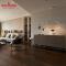 Non Slip Rustic Glazed Floor Ceramic Homogeneous Wooden Tiles 150x800mm