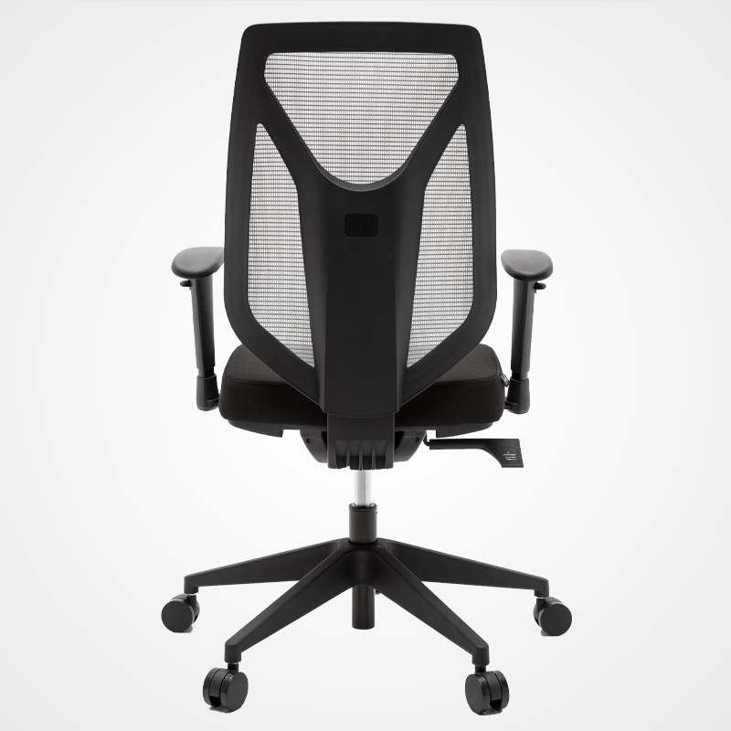 Modern business chair waist support back office swivel ergonomic armrest mesh chair