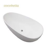 cocoblla artificial stone bathtub European style Customize Size CUPC Bath Tub Adult Soaking Freestanding