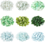 JINYUAN Factory wholesale ice jade glass mosaic tile for artwork decoration