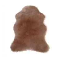 Irregular shaped living room large fur rugs fur carpets big