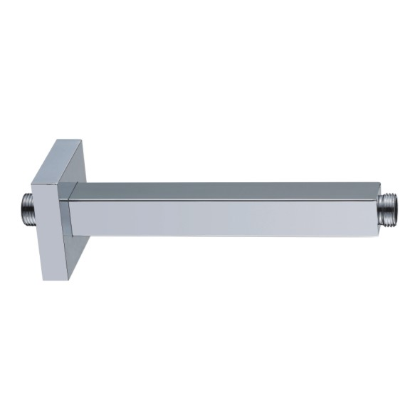 good quality Chromed wall /Ceiling Mount Stainless Steel/brass Square Shower Arm