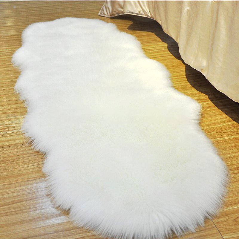 Fancy Imitate Long Hair Faux Fur Rug Blanket