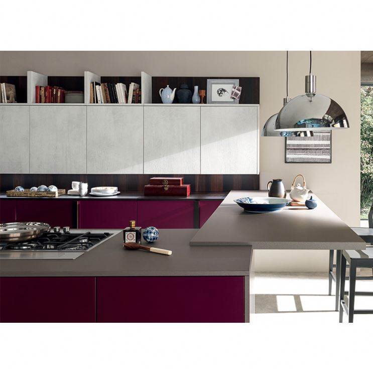 Factory Direct Fashion Modular Kitchen Cabinet With Shaker Door Home Furniture High Quality