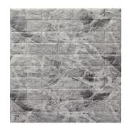 Custom Modern Brick Wall Panels Pe Foam Self-Adhesive Wallpaper And Stick 3D Art Wall Stickers For Tv Background