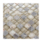 Hot selling popular style shell resin mosaic and crystal mosaic tile glass mix stone mosaic tile for kitchen wall decor