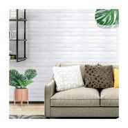 Eco-friendly 3D Wallpaper Decoration Waterproof PE Foam Mural Wall Brick for home living room decor