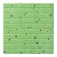 Best selling self adhesive PE foam wallpaper wall decoration 3d board wall panel