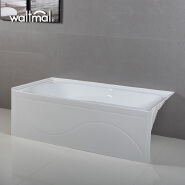 Deep High Canadian Standard Collection 60 Inch by 32 Inch Integral Apron Bathtub