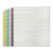 3D brick wall sticker self-adhesive wall decorative stickers TV background 3D foam wallcoating
