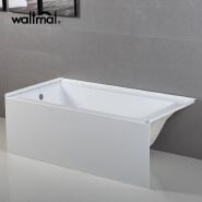 Standard Collection 60x30 Inch Integral Apron Bathtub American