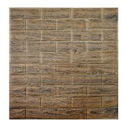 Wholesale latest new design wood grain texture foam Self Adhesive wallpaper home decoration 3d wallpaper