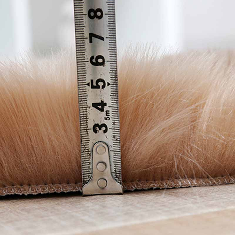 luxury fluffy area rug purple fake fur rugs faux fur carpet