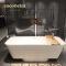 cocoblla Artificial stone bathtub bathroom durable whirlpool bathtub