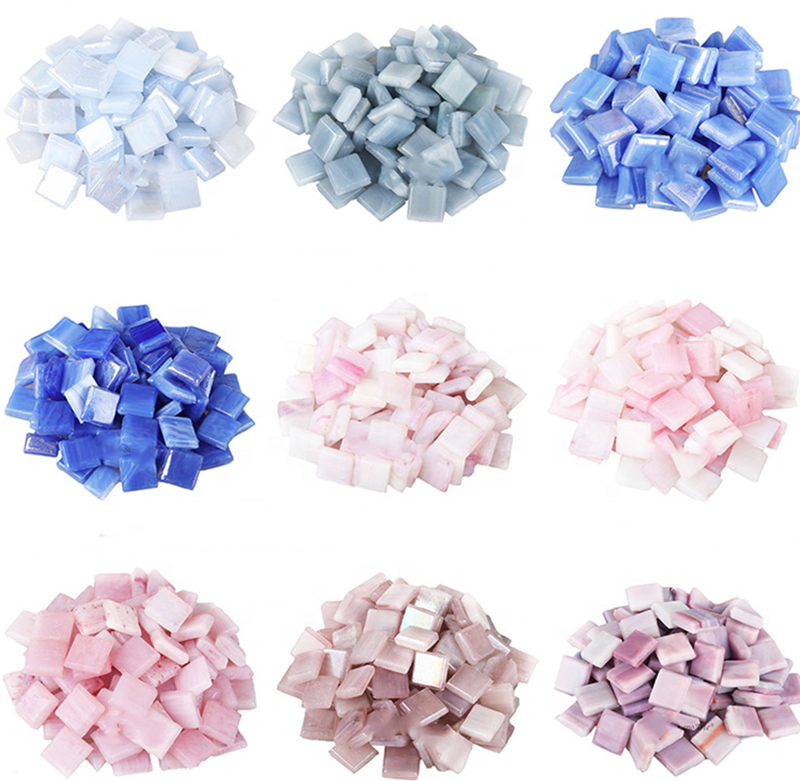 JINYUAN Factory wholesale ice jade swimming pool mosaic for decoration