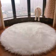 Luxury New Arrival Wholesale Fake Sheepskin Fur Rugs