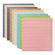 3D PE foam wall stickers 3D brick wall stickers 3D wallpapers/wall coating for home decor