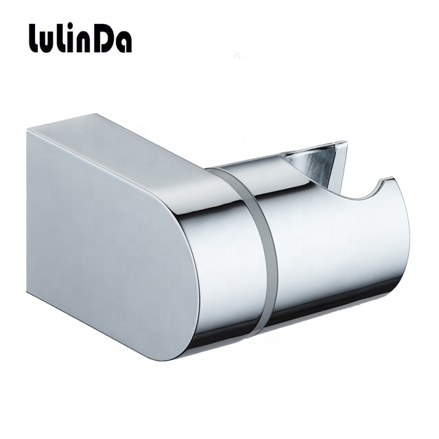 2020 Wholesale bathroom accessories shower adjustable abs plastic wall mounted shower accessories Bathroom Faucets