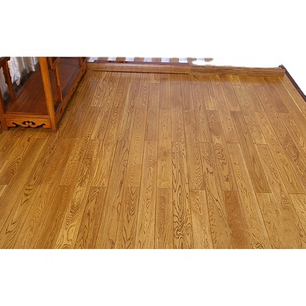 New manufacturer customized American red oak white oak pure solid wood antique hand-grained solid wood flooring
