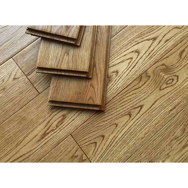 Real stuff American red oak white oak pure solid wood antique hand-grained solid wood flooring