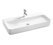 Factory Ceramic White very Long Freestanding Wash Basin