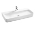 Factory Ceramic White very Long Freestanding Wash Basin