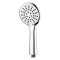 H-1080-1 Chrome plating 3 functions ABS plastic rainfall hand shower head