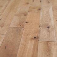 18mm Natural Oak Hard wood UV Lacquered Solid Wood Flooring for Indoor usage