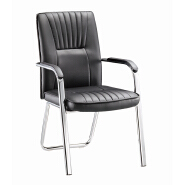 High Quality Ergonomic Commercial Conference Comfortable Leather Visitor Office Chair