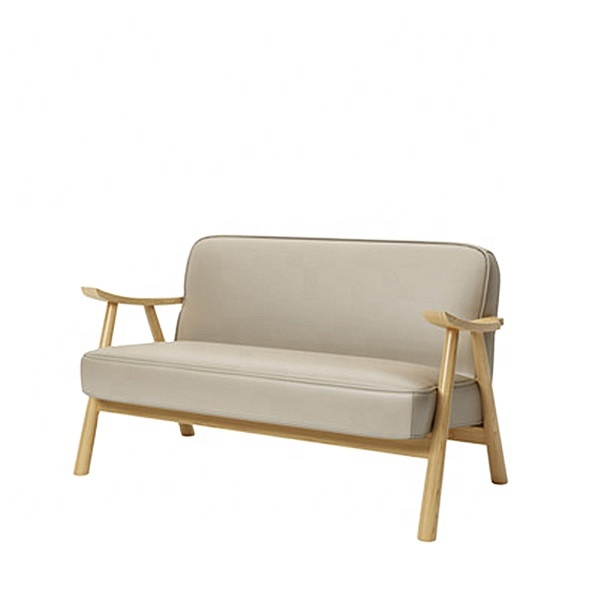Modern Sofa Woodern Metal Leather 321 Modern Leather Sofa From Chinese Sofa Manufacturer
