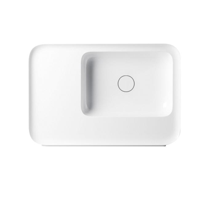 bathroom wash basin white color ceramic sinks