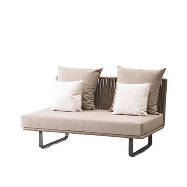 Rattan Sofa Outdoor Furniture Modern Simple Sofa Combination Garden Balcony Leisure Single Cane Chair Customization
