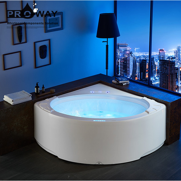 2020 New Cheap Acrylic Whirlpool Massage Bathtub