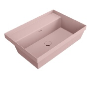 Shopping mall project artificial stone basin bathroom sink wash basin