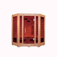 SN-02 Eco-friendly Wooden Material Freestanding Infrared Heating Portable Sauna Room